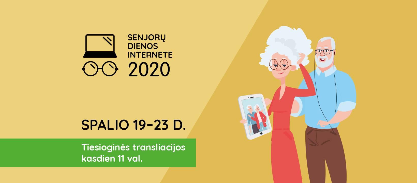 Senjorų dienos internete 2020